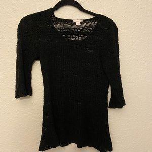 🔥3 for $5 knit Black Xhilaration blouse